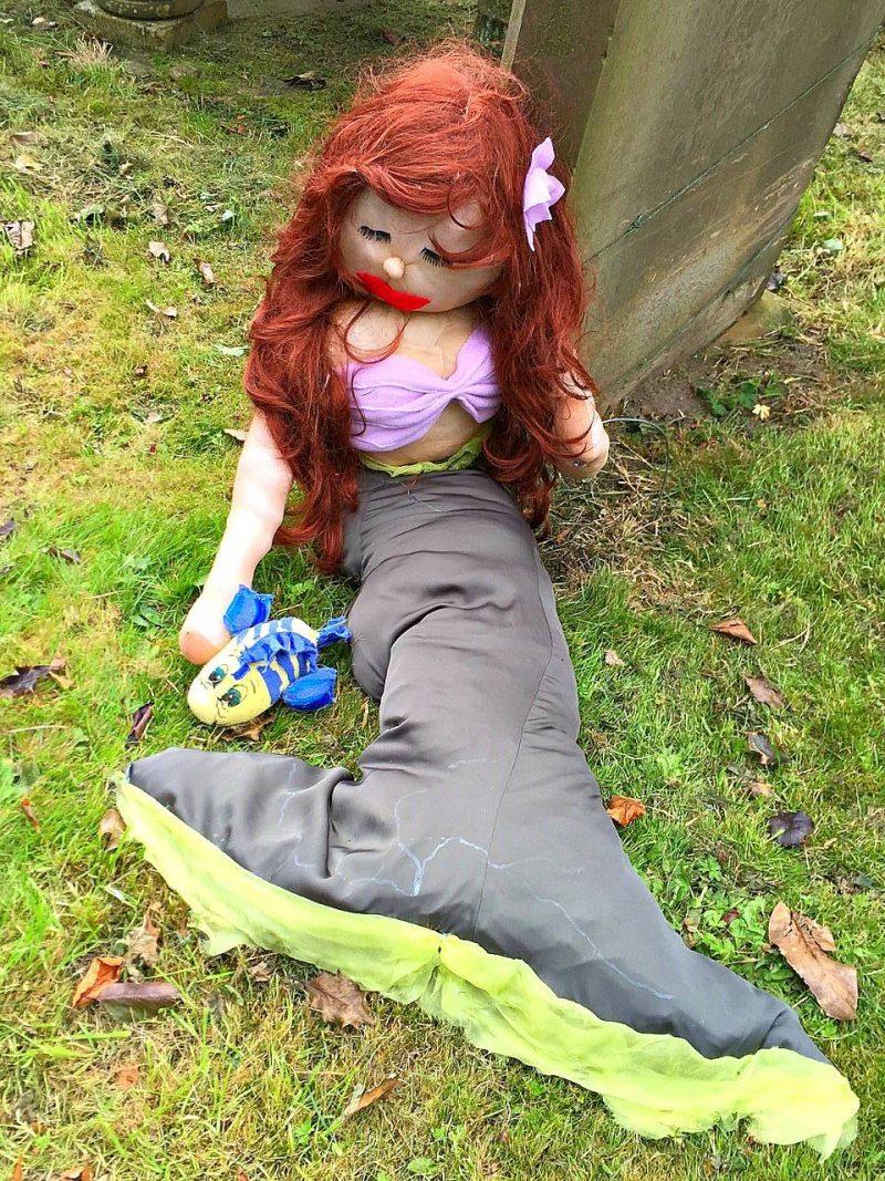 Scarecrow-mermaid