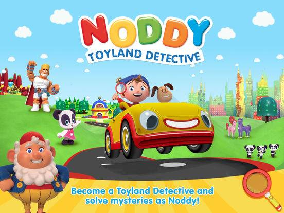Noddy Toyland Detective game review