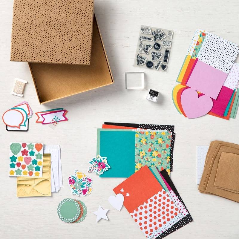 Oh Happy Day Stampin Up! Card Kit