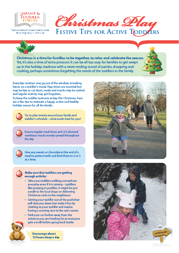 ... Of Ideas To Keep Little Ones Busy. The Festive Menu Below Is Full Of  Suggestions To Give Little Ones A Healthy Balance At Christmas Dinner, ...