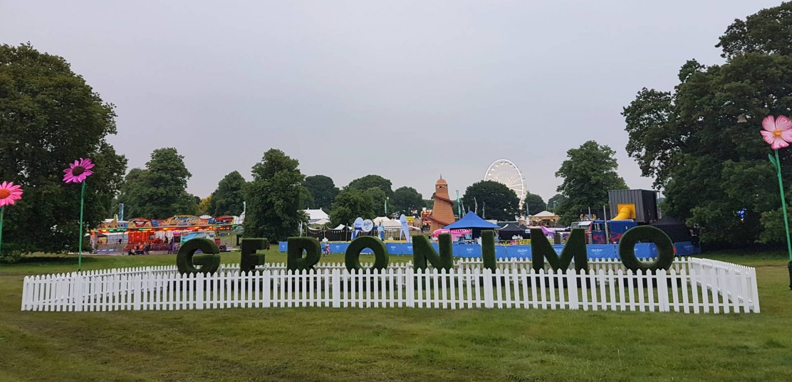 Geronimo Festival 2018 at Arley Hall