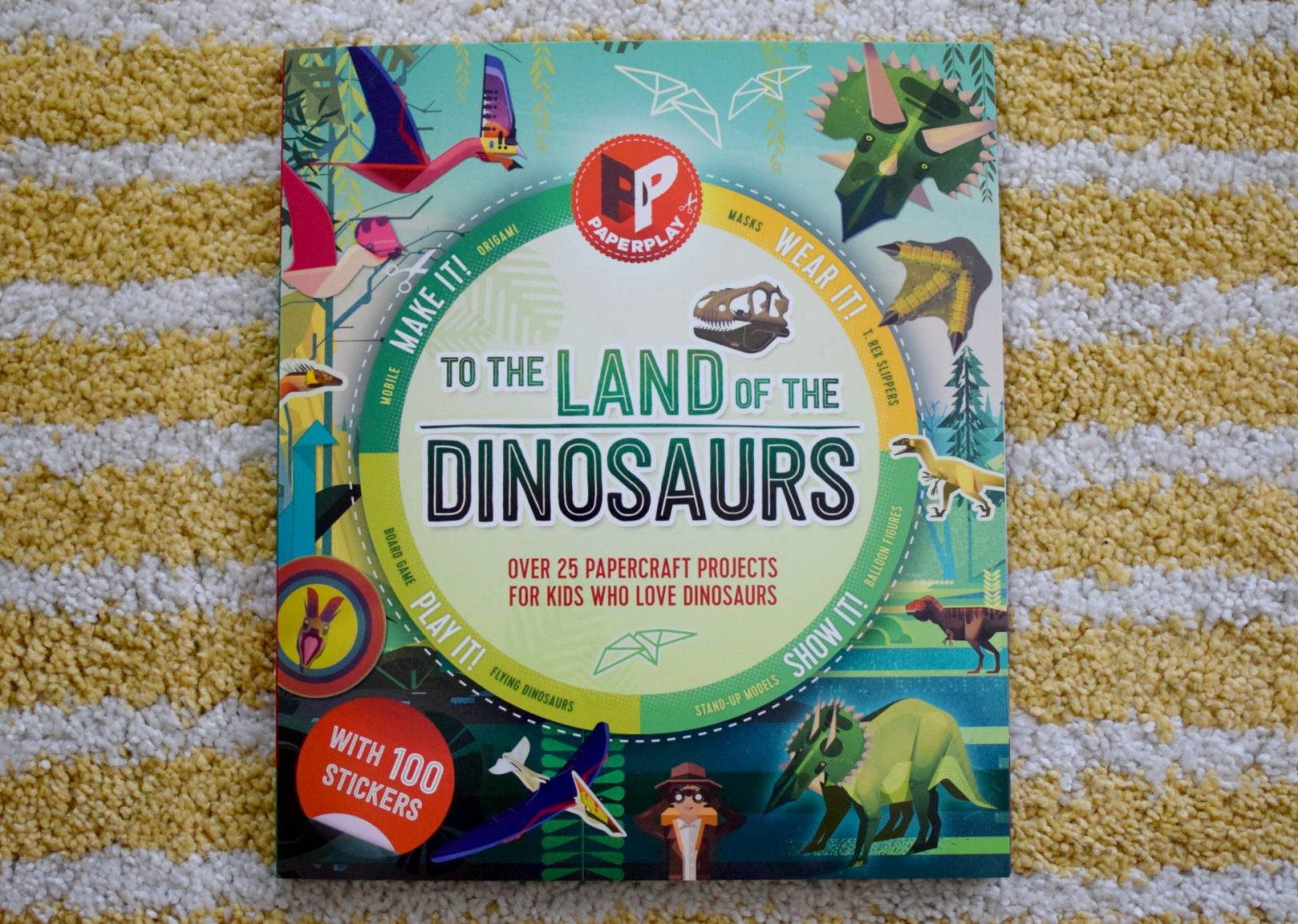 To The Land of Dinosaurs book review and giveaway
