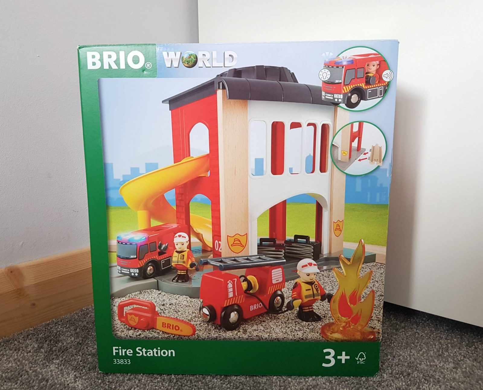 BRIO Fire Station review