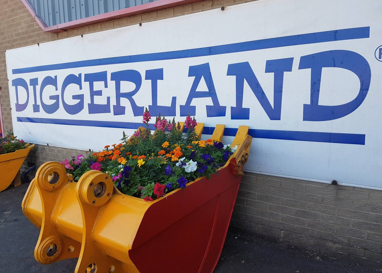 A day at Diggerland, Durham