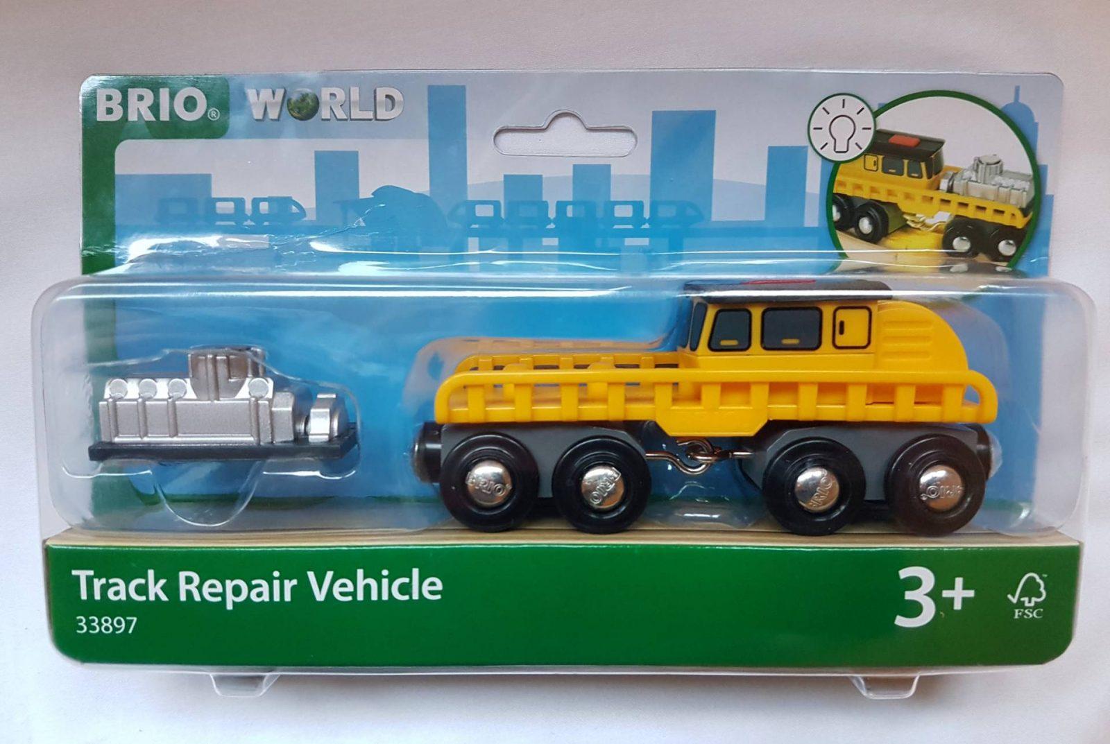 BRIO Track Maintenance Vehicle Review