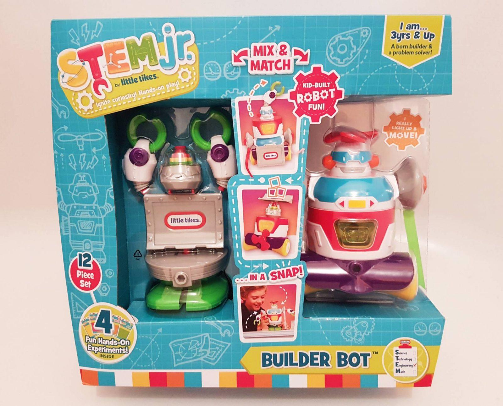 Little Tikes STEM Jr Builder Bot Review