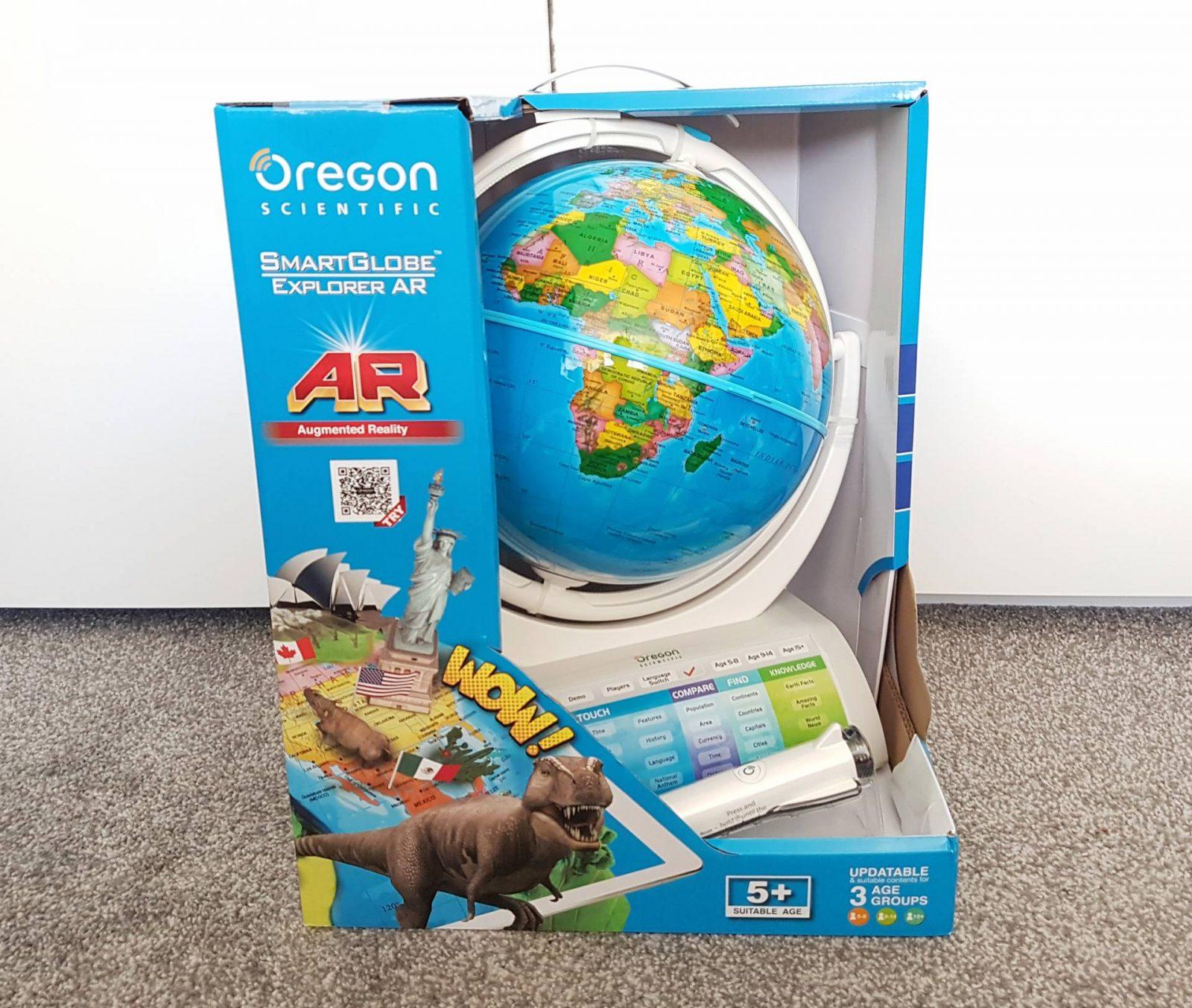 Oregon Scientific Smart Globe Explorer AR Review