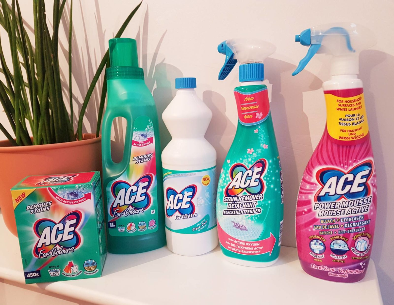 Win One Of Two ACE Cleaning Bundles