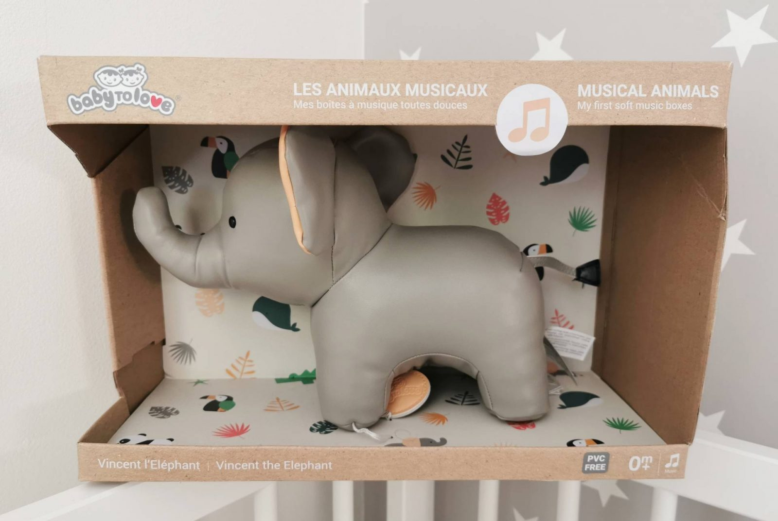 Musical Animals from BabytoLove – Vincent the Elephant