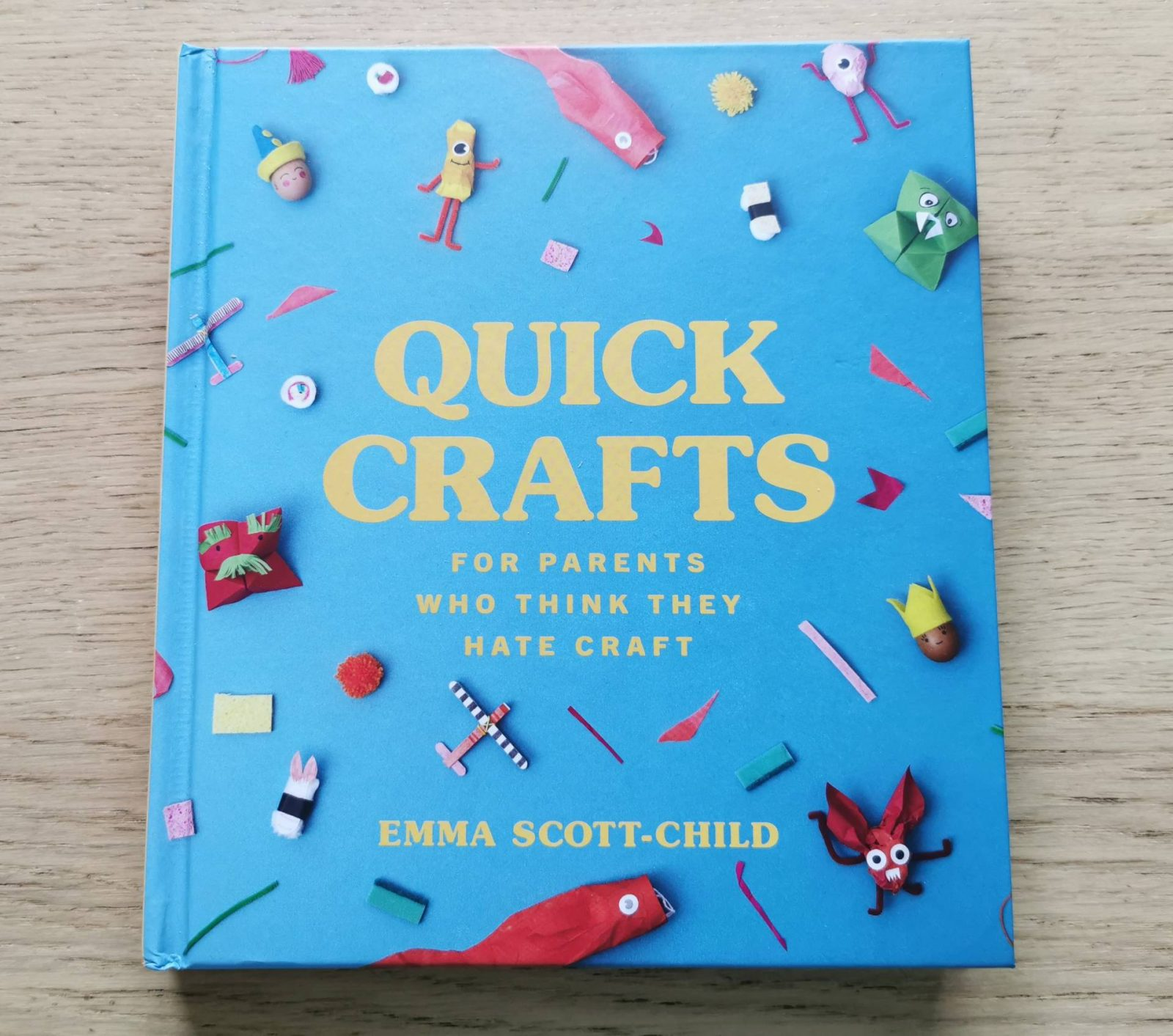 Quick Crafts for Parents Who Think They Hate Craft book review & Giveaway