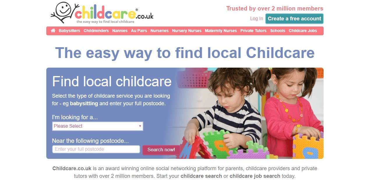 Considering Options for Childcare with Childcare.co.uk