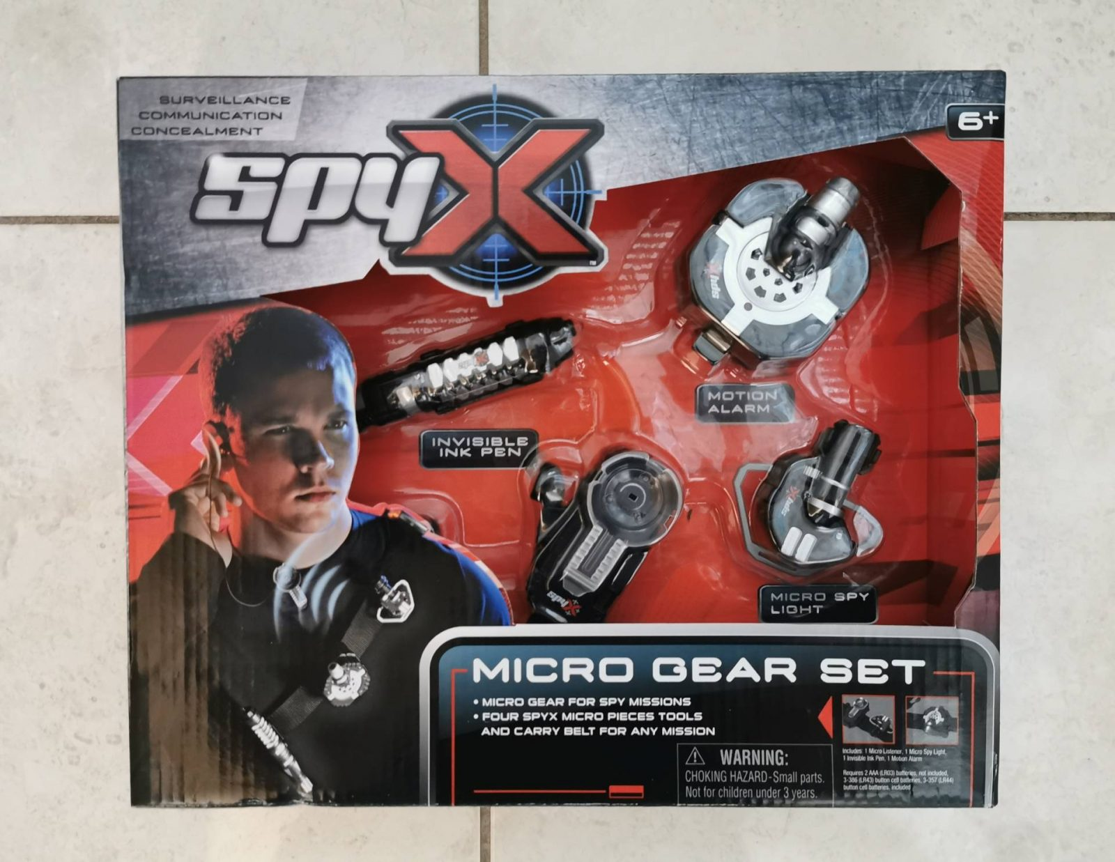 Trends UK SpyX Micro Gear Set Review and Giveaway