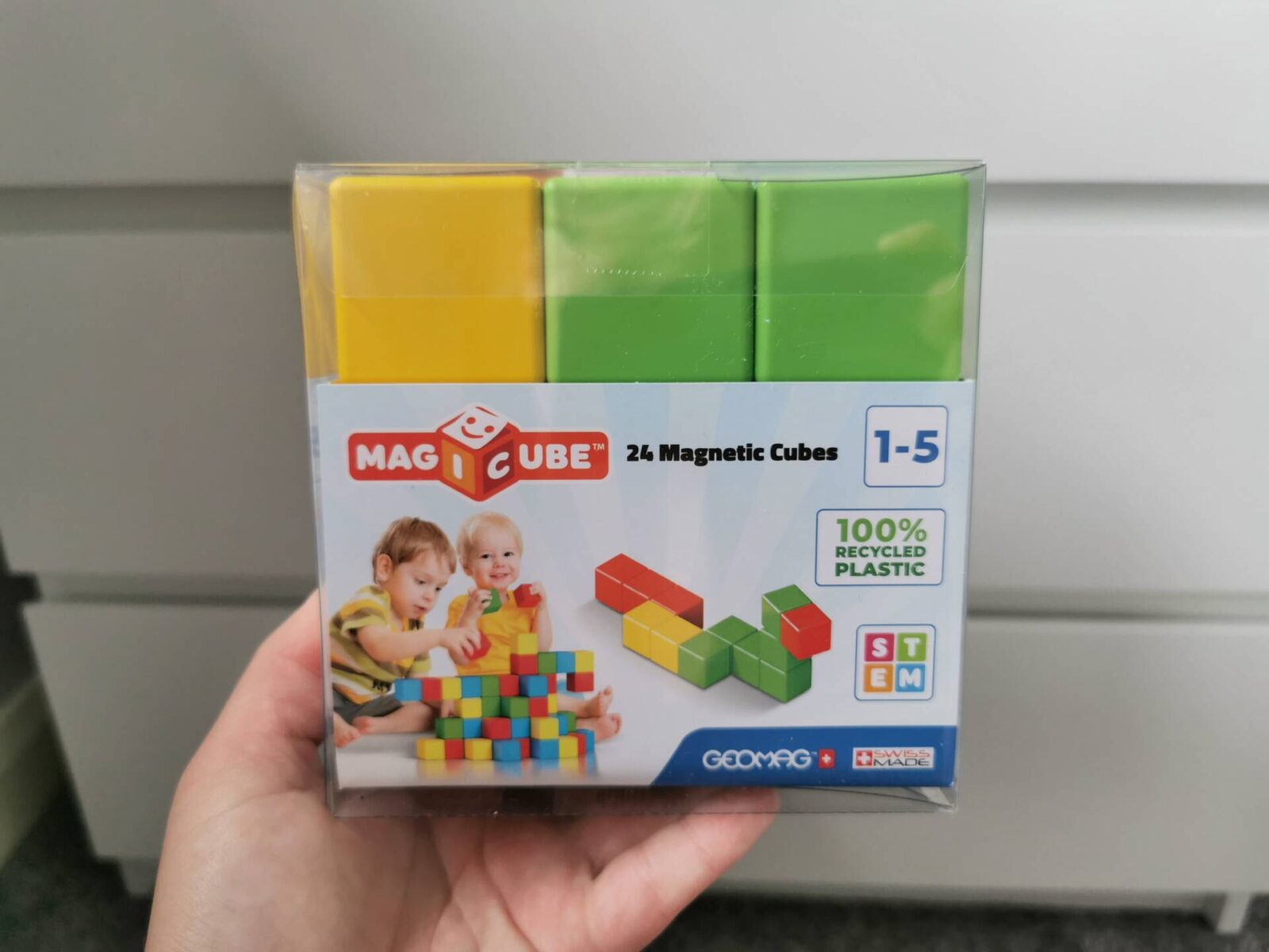 Geomag Magicube Magnetic Blocks review