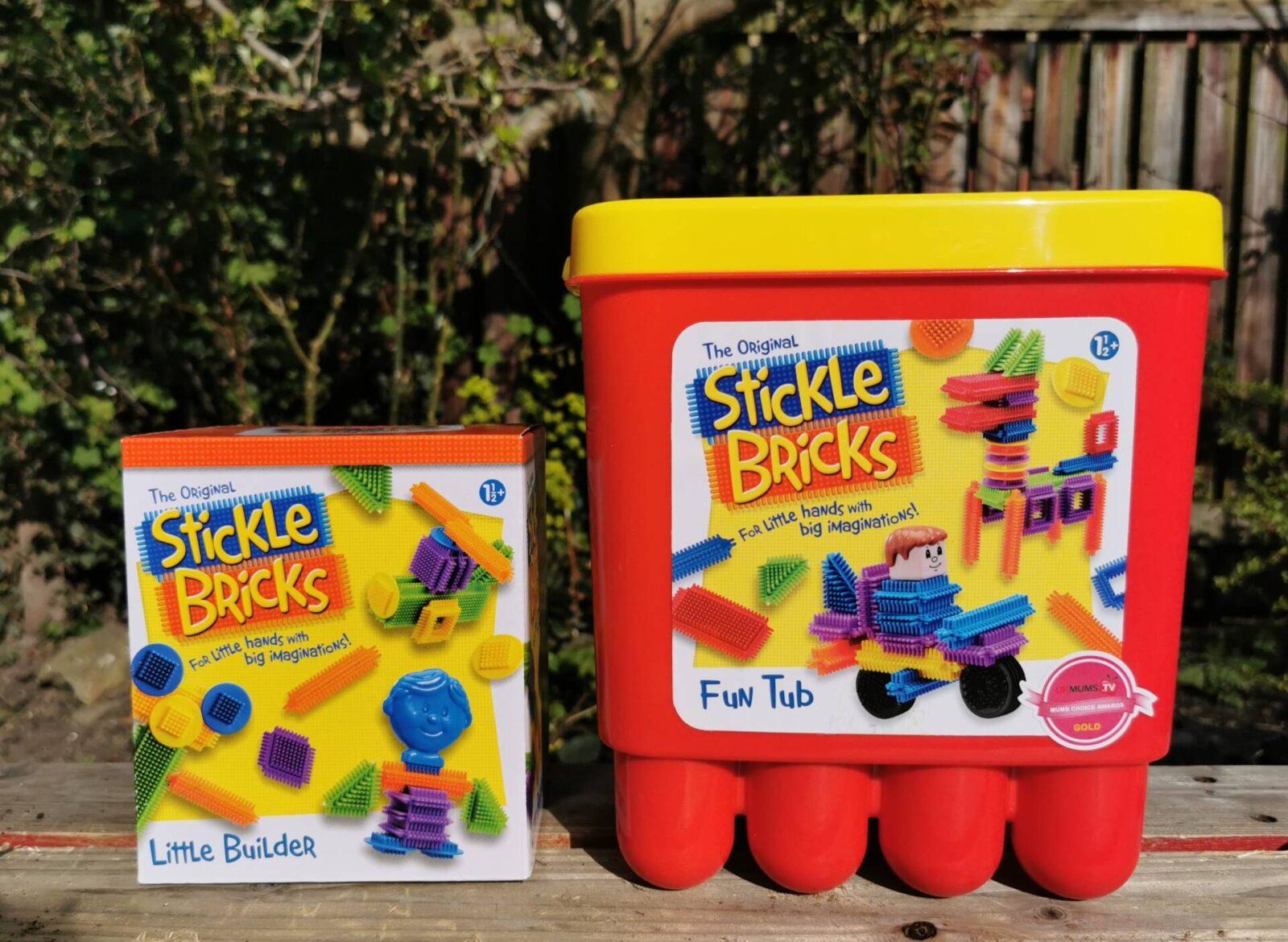 Classic Toys – Stickle Bricks and Plasticine review
