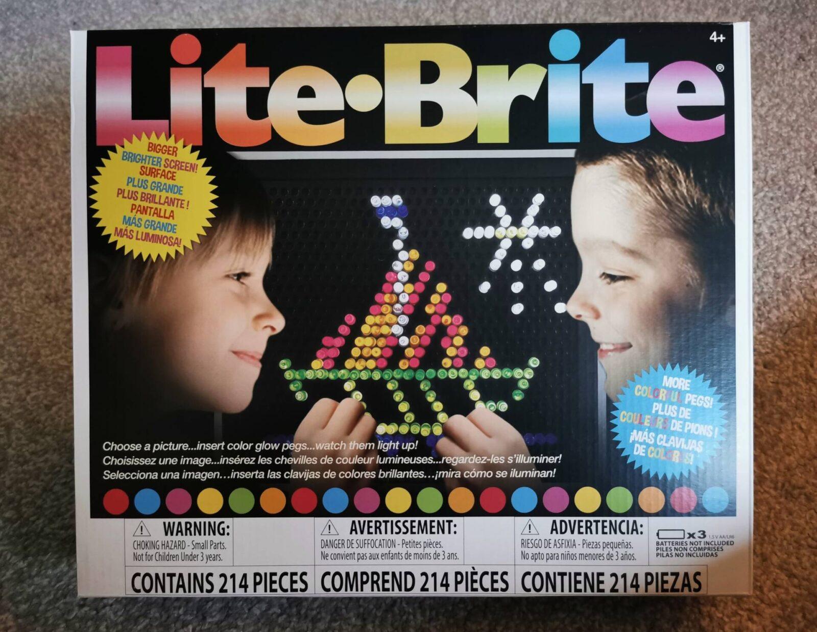 Lite Brite Classic and Mini Review